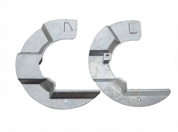Schmutzschild Paar Bremse vorn verzinkt Defender Discovery 1-1