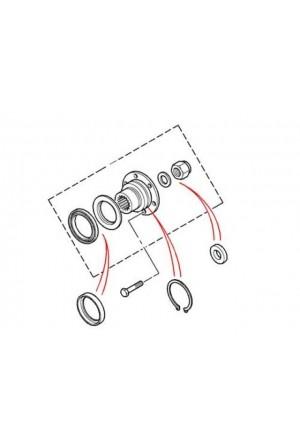 Flansch Kit hinten LT230 Verteilergetriebe-1