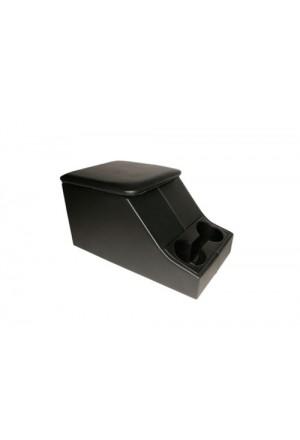 Cubbybox schwarz mit Getränkehalter-1