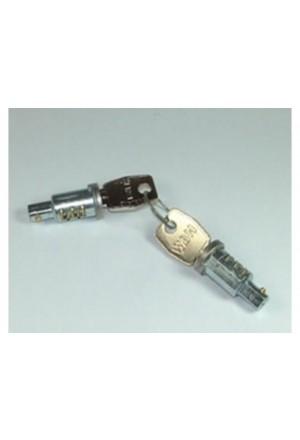 Türschlossset Defender 2 Zylinder, 2 Schlüssel-1