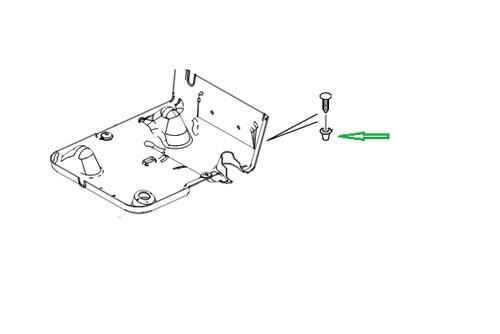 Clip Sitzverkleidung Defender ab 7A-1