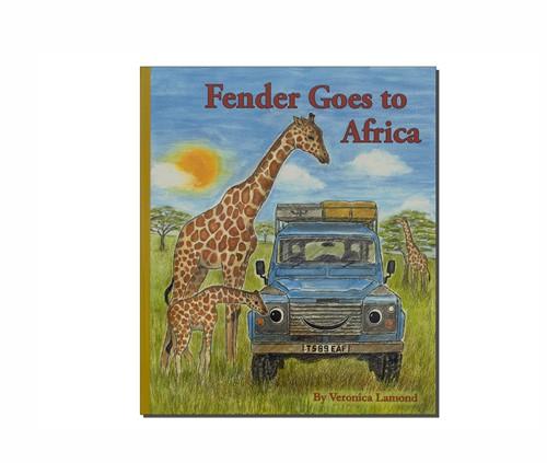 Bilderbuch Fender geht nach Afrika-1