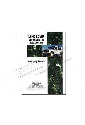 Werkstatthandbuch Land Rover Defender Td5 in englisch-1
