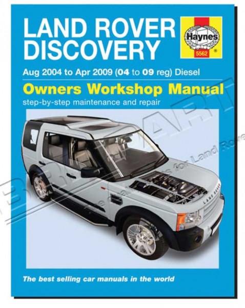 Werkstatthandbuch Discovery 3 bis 2009 Dieselfahrzeuge-1