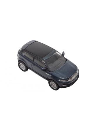 Modellauto Range Rover Evoque Coupe Maßstab 1:76 in blau-1