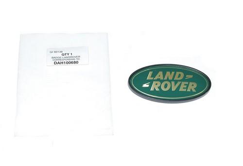 Emblem Land Rover gold auf grün-1