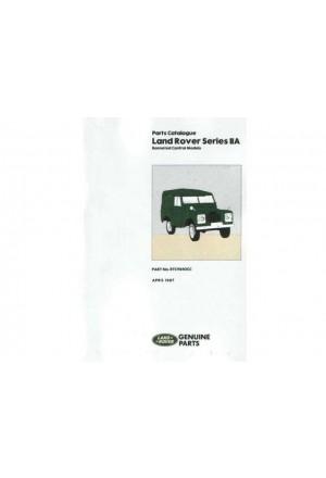 Ersatzteilkatalog Land Rover Serie 2a 1966-1971-1