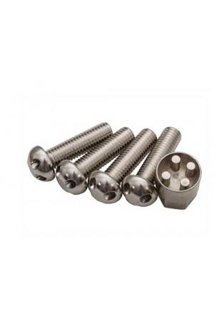 Diebstahlhemmendes M10x35 Schrauben Set mit Schlüssel-1