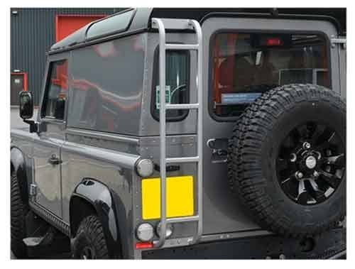 Dachleiter Defender Typ Expedition in grau-1