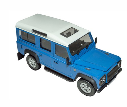 Modellauto Defender Maßstab 1:24 in blau-1