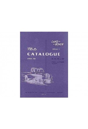 Ersatzteilkatalog Land Rover Serie 1 1954-58-1