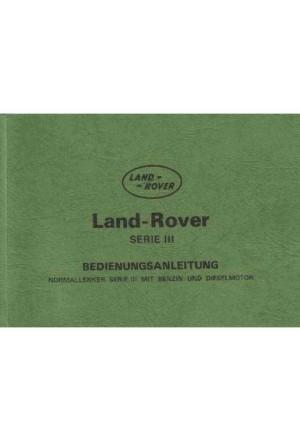 Bedienungsanleitung Land Rover Serie 3-1