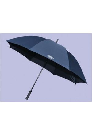 Golf Regenschirm indigoblau mit Land Rover Logo-1