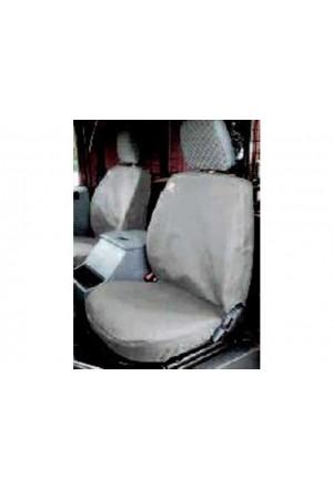 Sitzbezug Set Land Rover Defender vorn grau-1