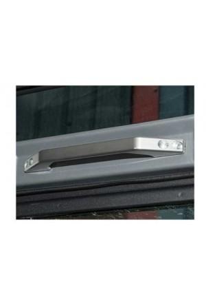 Griff innen Land Rover Defender Aluminium silber eloxiert-1