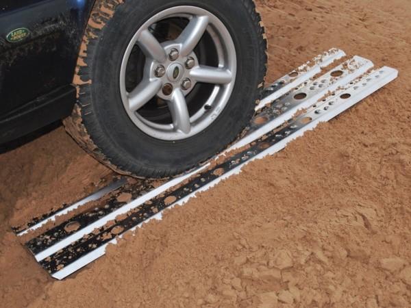 Sandbleche Paar Aluminium 150cm lang 40cm breit 4 mm stark-1