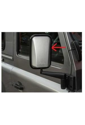 XS Außenspiegel Land Rover Defender silberfarbend-1