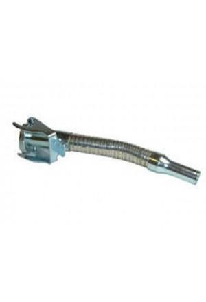 Reservekanister Einfüllstutzen flexibel aus Stahl-1