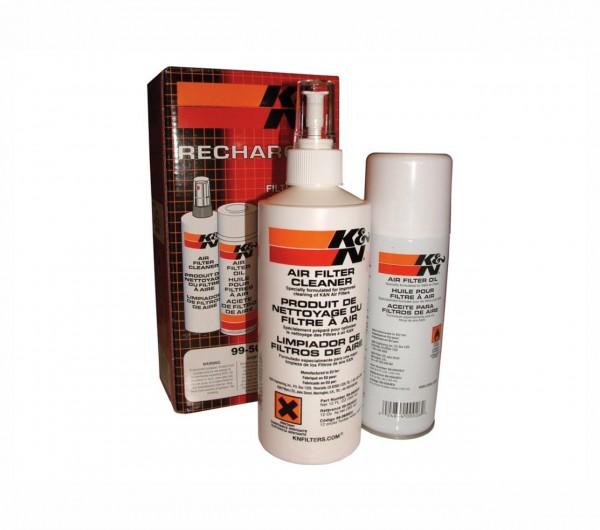 K&N Filter Pflegeset: Sprühreiniger Filteröl-1