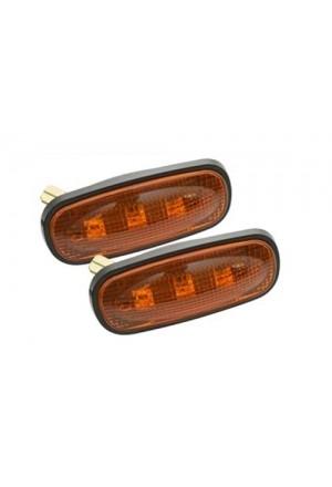 Seitenblinker Paar Defender ab Td5 LED in orange-1