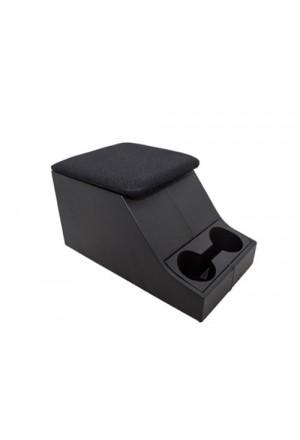 Cubbybox Defender mit Getränkehalter Deckel stoffbezogen-1