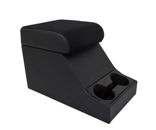 Cubbybox Typ Chubby schwarzer Stoff mit Getränkehalter-1