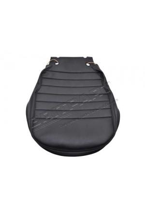 Sitzbezug Mittelsitz Sitzfläche Defender Vinyl schwarz-1