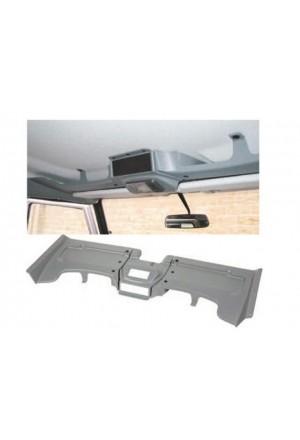 Dachkonsole Defender dreiteilig Farbe grau-1