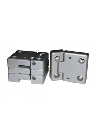 Türscharnier Satz Defender Vordertüren aus Aluminium-1