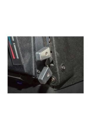 Heizungsregler Land Rover Defender Aluminium silber eloxiert-1