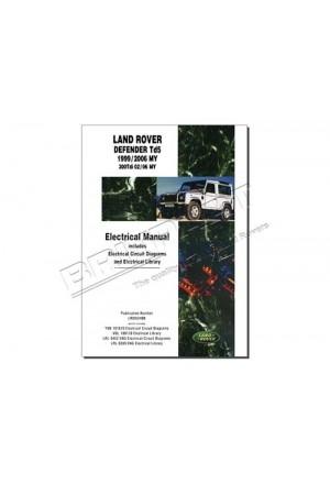 Elektrikhandbuch Land Rover Defender Td5 in englisch-1