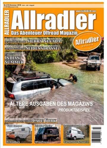 Allradler Magazin ältere Ausgabe - kostenlose Zugabe-1