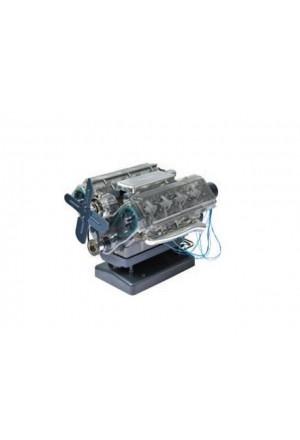 Modellbausatz V8 Benzinmotor-1