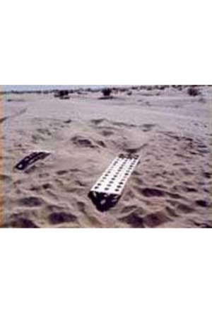 Sandbleche Paar Aluminium 1,5 m-1