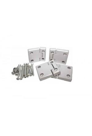 Türscharnier Satz Defender Seitentüren Aluminium-1